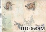 Papier für Serviettentechnik und Decoupage D0649M