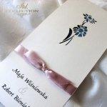 Einladungskarten / Hochzeitskarte 01722_72_blau
