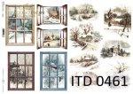 Decoupage paper ITD D0461M