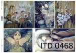 Decoupage Paper ITD D0468