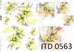 Decoupage paper ITD D0563