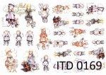 Decoupage paper ITD D0169