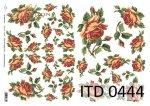 Decoupage paper ITD D0444M