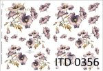 Decoupage paper ITD D0356