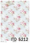 Decoupage paper Soft ITD S0212