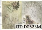 Decoupage paper ITD D0523M