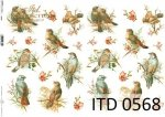 Decoupage paper ITD D0568