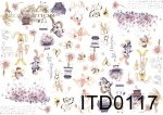 Decoupage paper ITD 0117M