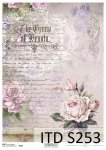Decoupage paper Soft ITD S0253