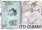 Papier decoupage ITD D0584M