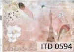 Papier decoupage ITD D0594
