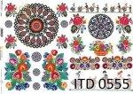 Papier decoupage ITD D0555