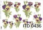 Papier decoupage ITD D0436M