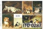 Papier decoupage ITD D0287M