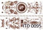 Papier decoupage ITD D0095M