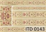 Papier decoupage ITD D0143