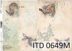 Papier decoupage ITD D0649M