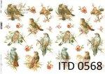 Papier decoupage ITD D0568