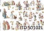 Papier decoupage SOFT ITD S0102L