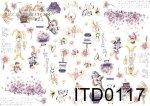 Papier decoupage ITD D0117