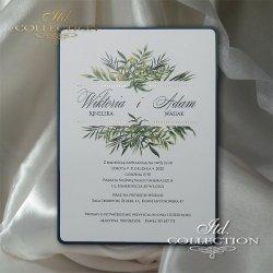 Zaproszenia ślubne / zaproszenie 2068