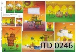 Papier decoupage ITD D0246