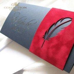 Zaproszenie studniówkowe ZS_80 z elegancką kopertą
