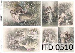 Papier decoupage ITD D0510