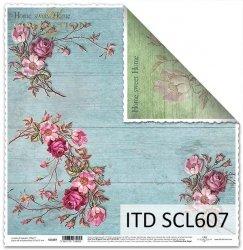 Papier scrapbooking SCL607