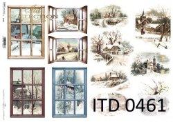 Papier decoupage ITD D0461M