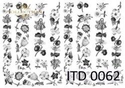 Papier decoupage ITD D0062