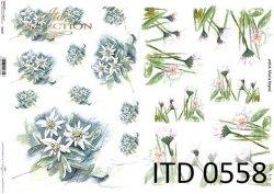 Papier decoupage ITD D0558