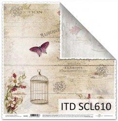 Papier scrapbooking SCL610