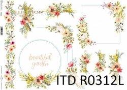 Papier ryżowy ITD R0312L