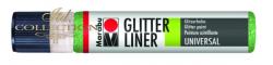Liner Glitter 25 ml - Petrol 592