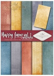.Papier do scrapbookingu SCRAP-040 ''Happy farm vol. 2''