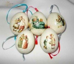 Kolorowe jajeczka -  praca Kalfetka Ltd. Węgry