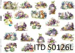 Papier decoupage SOFT ITD S0126L