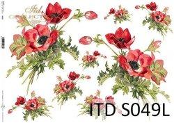 Papier decoupage SOFT ITD S0049L