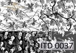 Papier decoupage ITD D0037