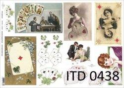 Papier decoupage ITD D0438