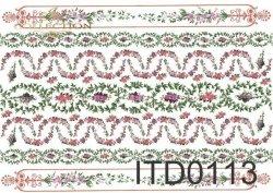 Papier decoupage ITD D0113M