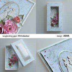 Ślubne pudełko - praca Asha