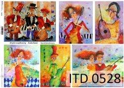 Papier decoupage ITD D0528