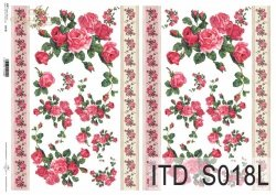 Papier decoupage SOFT ITD S0018L