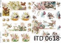 Papier decoupage ITD D0618