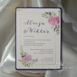 Zaproszenia ślubne / zaproszenie 2077