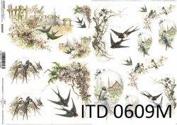 Papier decoupage ITD D0609M