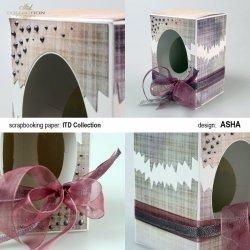 Ozdobne pudełko na wielkanocne jajo - W Młodzieżowym Stylu - praca Asha