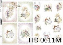 Papier decoupage ITD D0611M